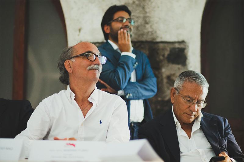 Il direttore artistico della manifestazione Arch. Aldo Imer
